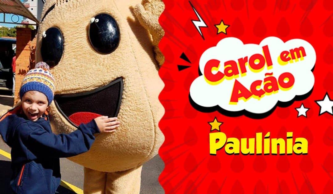 Carol em Ação espalha amor em Paulínia