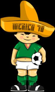 Juanito é o segundo mascote utilizado para divulgar o principal evento da  FIFA cc45b0411ed30