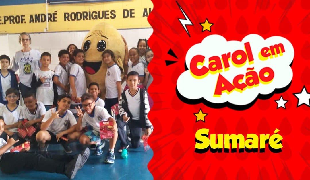 Carol em Ação espalha amor em Sumaré
