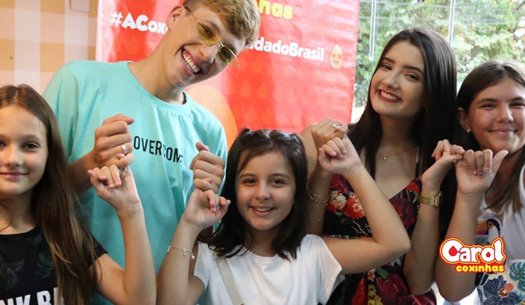 Encontro de fãs Fugoni na unidade Carol Coxinhas em Andradas-MG.