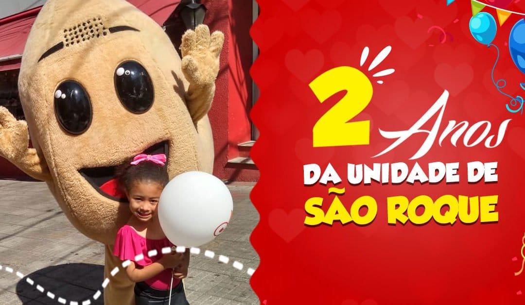 2 ANOS DA UNIDADE CAROL COXINHAS SÃO ROQUE