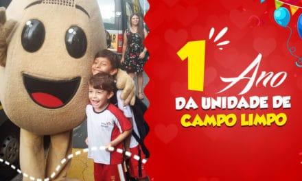 1 ANO DA UNIDADE CAROL COXINHAS CAMPO LIMPO