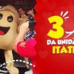 3 ANOS DA UNIDADE CAROL COXINHAS ITATIBA