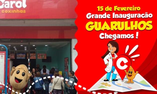 Carol Coxinhas chega em Guarulhos, São Paulo para espalhar sabor e amor!