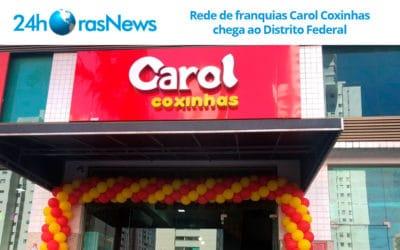 Rede de franquias Carol Coxinhas chega ao Distrito Federal