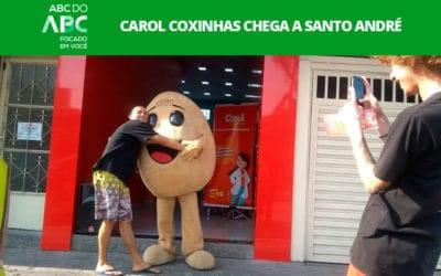Carol Coxinhas chega a Santo André